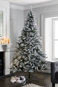 8ft Snowy Christmas Tree