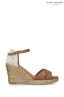 Kurt Geiger London Leona Tan Sandals