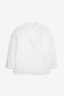White Embroidered Tunic/Kurta (3-16yrs)