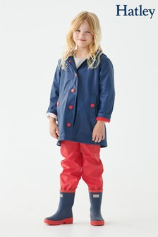 Hatley Blue Classic Splash Jacket