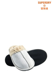 Superdry Leather Mule Slippers