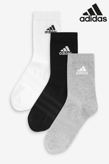 adidas Adults Crew Socks 3 Pack