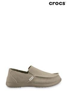 Crocs™ Khaki Santa Cruz Loafers