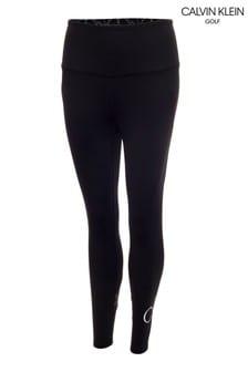 Calvin Klein Golf Black High Waisted 7.8Ths Leggings