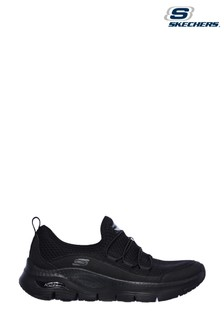 Skechers® Black Arch Fit Lucky Thoughts Trainers