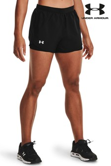 Under Armour Black Fly By 2.0 2-in-1 Shorts