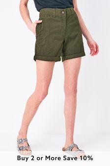 Khaki Chino Shorts