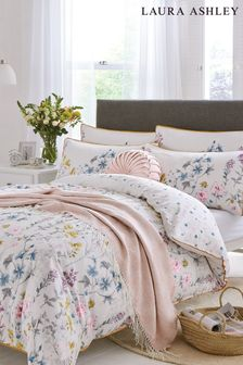 Laura Ashley Wild Meadow Duvet Cover And Pillowcase Set