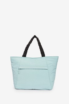 Blue Large Shopper Bag
