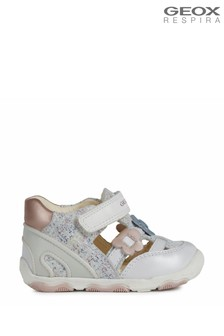 Geox Baby Girl's New Balù White Shoes