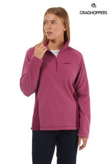 Craghoppers Red Miska Half-Zip Fleece