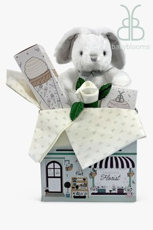 Babyblooms Grey Bunny Welcome Baby Gift