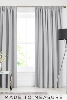 Soho Silver Made To Measure Curtains