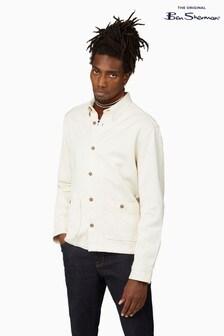 Ben Sherman Ivory Raw Cotton Chore Jacket