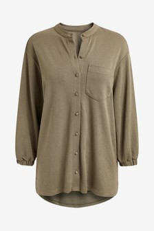 Khaki Tunic Shirt
