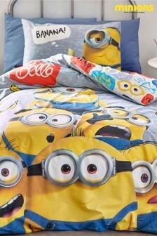 Minions Duvet Cover and Pillowcase Set