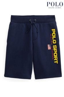 Ralph Lauren Navy Polo Sport Shorts