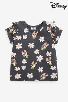 Charcoal Daisy Duck Licence T-Shirt (3mths-7yrs)
