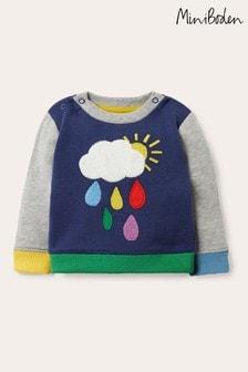Boden Blue Cosy Weather Sweatshirt