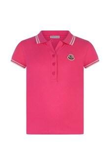 Girls Cotton Polo Top