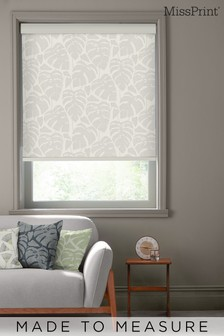 Guatemala Ghost Grey Made To Measure Roller Blind by MissPrint
