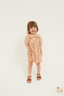 Orange Tea Dress (3mths-7yrs)