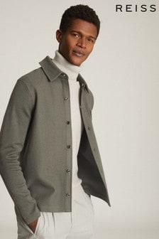 Reiss Wishaw Wool Blend Overshirt