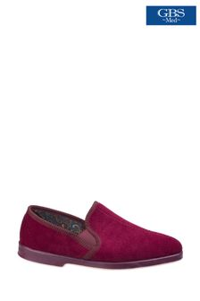 GBS Red Twin Gusset Slippers