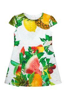 Guess Baby Girls Multi Cotton Dress