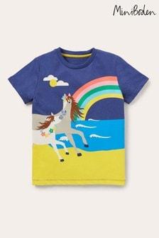 Boden Blue Scene T-Shirt