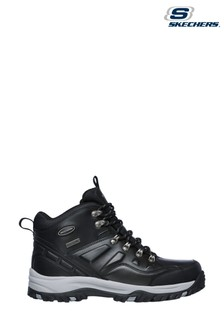 Skechers Black Relment Traven Boots