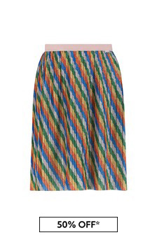 Girls Multicoloured Skirt