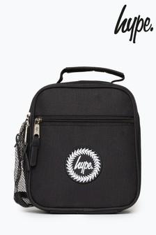 Hype. Black Lunch Bag