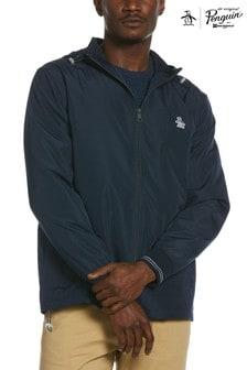 Original Penguin Blue Hooded Ratner Jacket