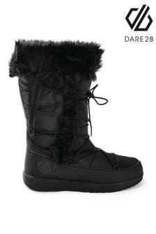 Dare 2b Black Cazis Cosy Faux Fur Boots