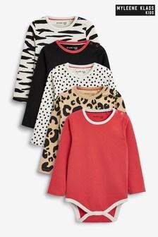 Myleene Klass Baby Bodysuits 5 Pack
