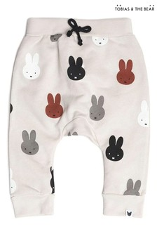 Tobias & The Bear Natural Miffy & Friends Joggers