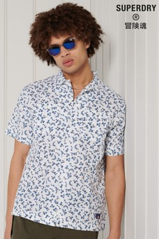 Superdry Short Sleeve Beach Printed Shirt