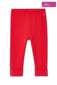 Joules Red Lula Rib Leggings