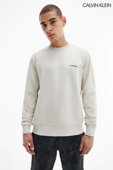 Calvin Klein Brown Small Chest Logo Sweatshirt