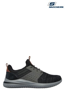 Skechers® Black Delson 3.0 Cicada Trainers
