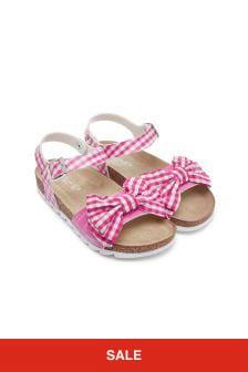 Girls Cream Sandals