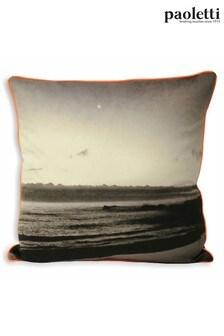Neon Coast Cushion by Riva Paoletti