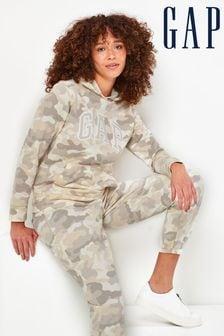 Gap Classic Logo Camouflage Hoody