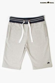 Raging Bull Grey Marl Signature Sweat Shorts