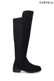 Carvela Comfort Black Vanessa 2 Boots
