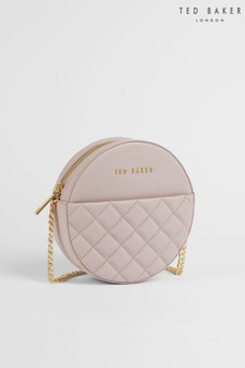 Ted Baker Cirrcus Quilted Circle Mini Across Body Bag