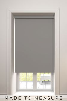 Haig Fog Grey Made To Measure Blackout Roller Blind