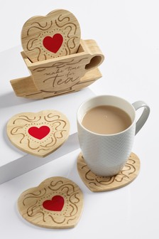 Teacup & Biscuit Coaster Holder