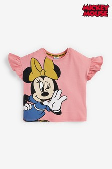 Pink Minnie Mouse™ Organic Cotton T-Shirt (3mths-7yrs)